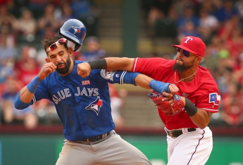 Texas Rangers and Toronto Blue Jays Brawl