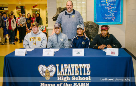 National Signing Day at Lafayette