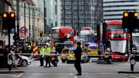 Terrorist Attack in London, England