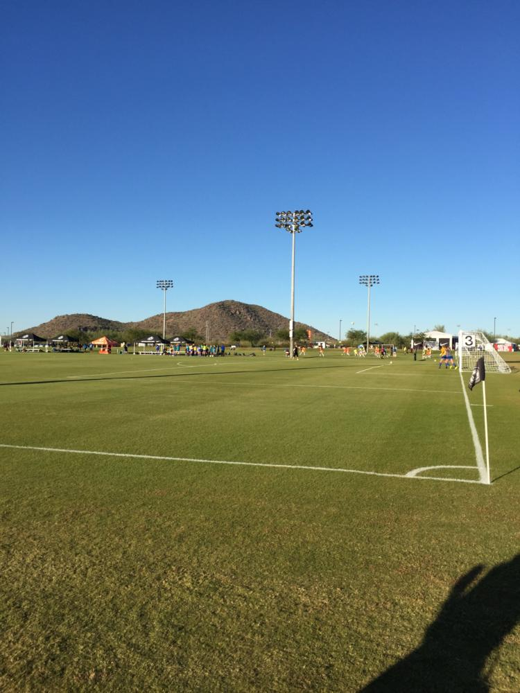This is a picture of the fields ODP Nationals are played at each year in Phoenix, Arizona.