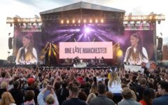 Ariana Grande Hold A Benefit Concert After Terrorist Attack