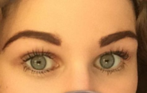 Abby Crabtree likes to do her eyebrows in a medium brown color.