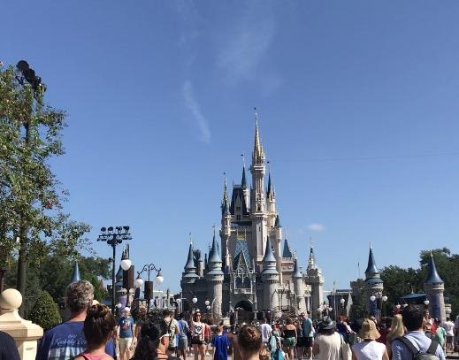 Cinderella's Castle in Disney World in Orlando
