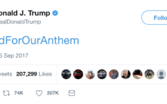 """Trump: """"Tell Them to Stand!"""""""