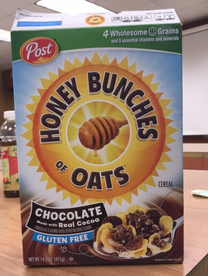 Honey Bunches of Oats is among the foods that contain GMOS
