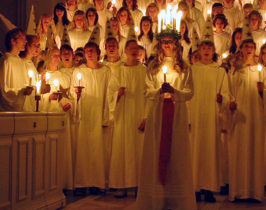 The+Feast+of+Santa+Lucia+is+one+of+many+ways+various+holidays+and+celebrations+are+observed+around+the+world+this+time+of+year.