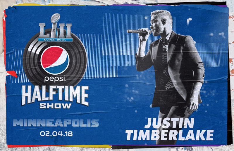 Justin Timberlake was the star of the much anticipated Half Time Show for this year's Super Bowl LII.