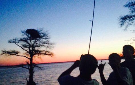 Fishing in Williamsburg