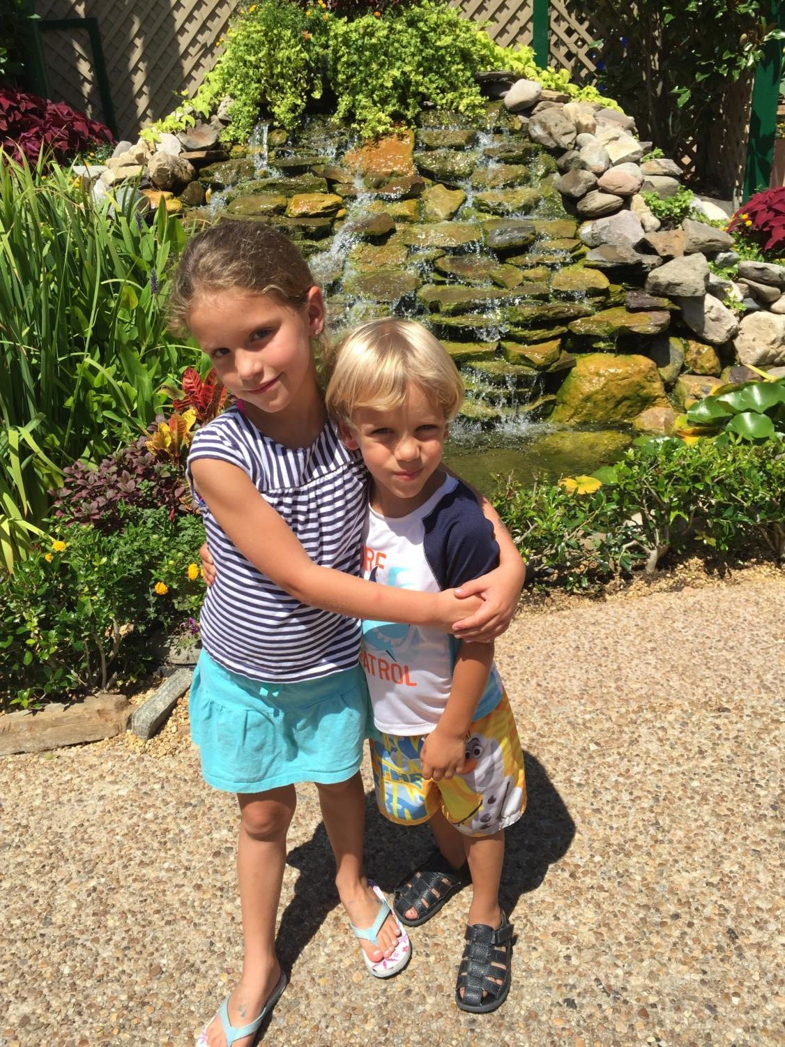 Jasmine and Patrick visit Busch Gardens for the first time.