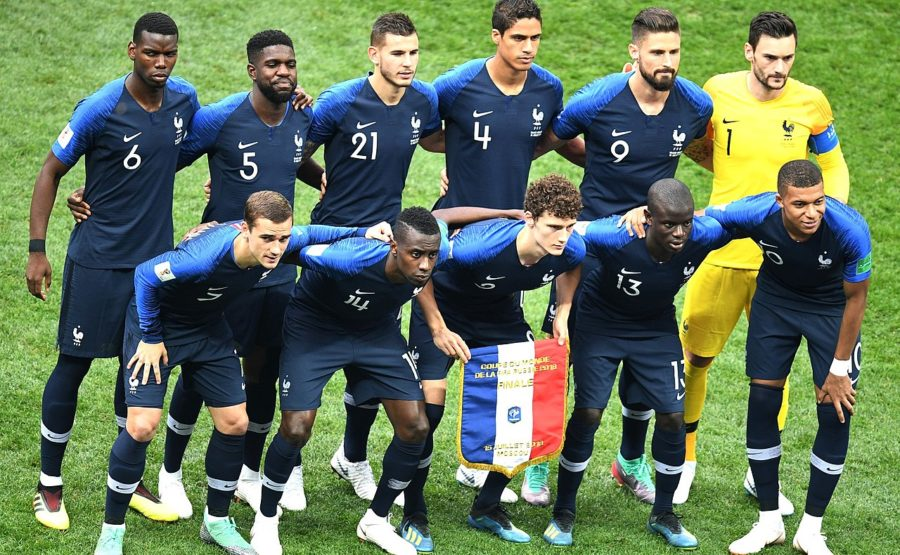 The+French+National+appears+determined+before+the+Final+against+Croatia
