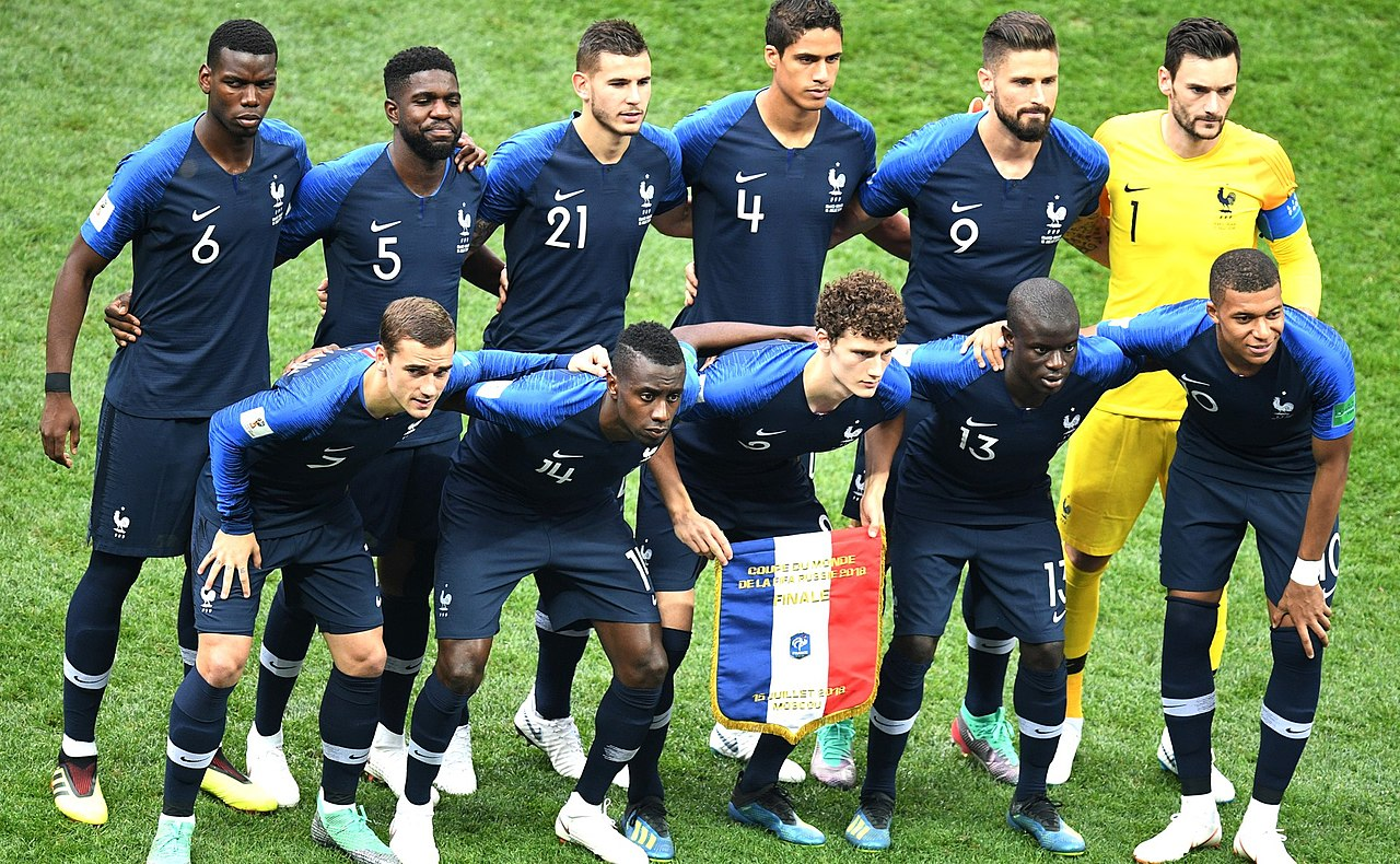 The French National appears determined before the Final against Croatia