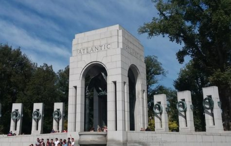 Sean's Photoessay, A Vist To the WWII Mermorial in Washington D.C