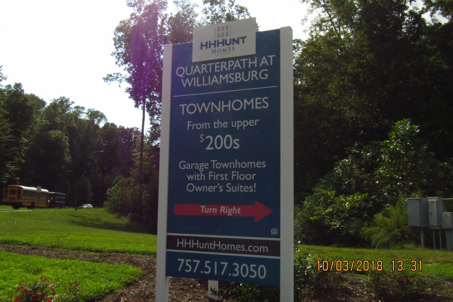In the city of Williamsburg, new houses are coming quick and selling fast.