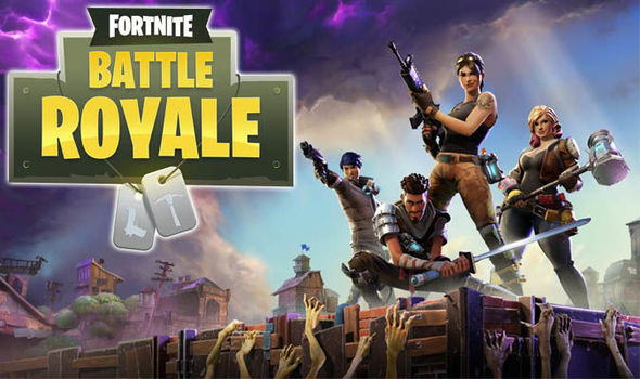 Fortnite is a game that has been increasingly popular in the past year. This is a screenshot of the in-game loading screen.