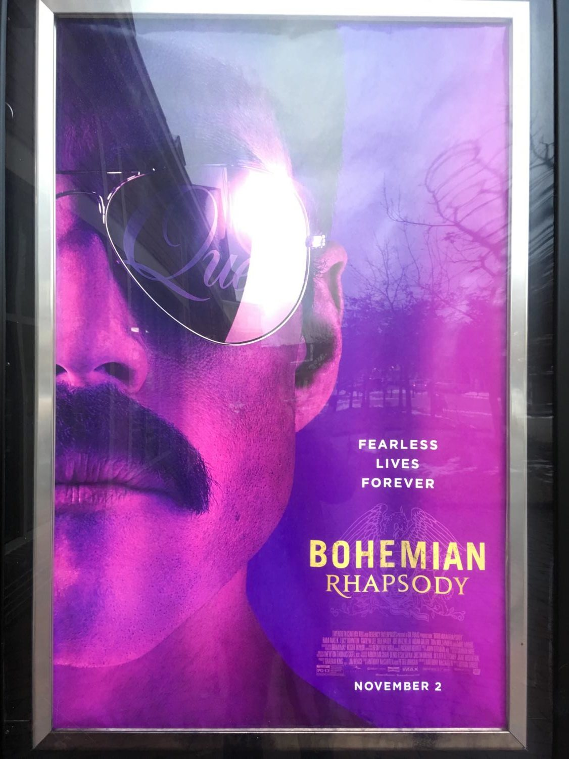 Bohemian Rhapsody is quickly rising in popularity and can be seen in all theatres in Williamsburg.
