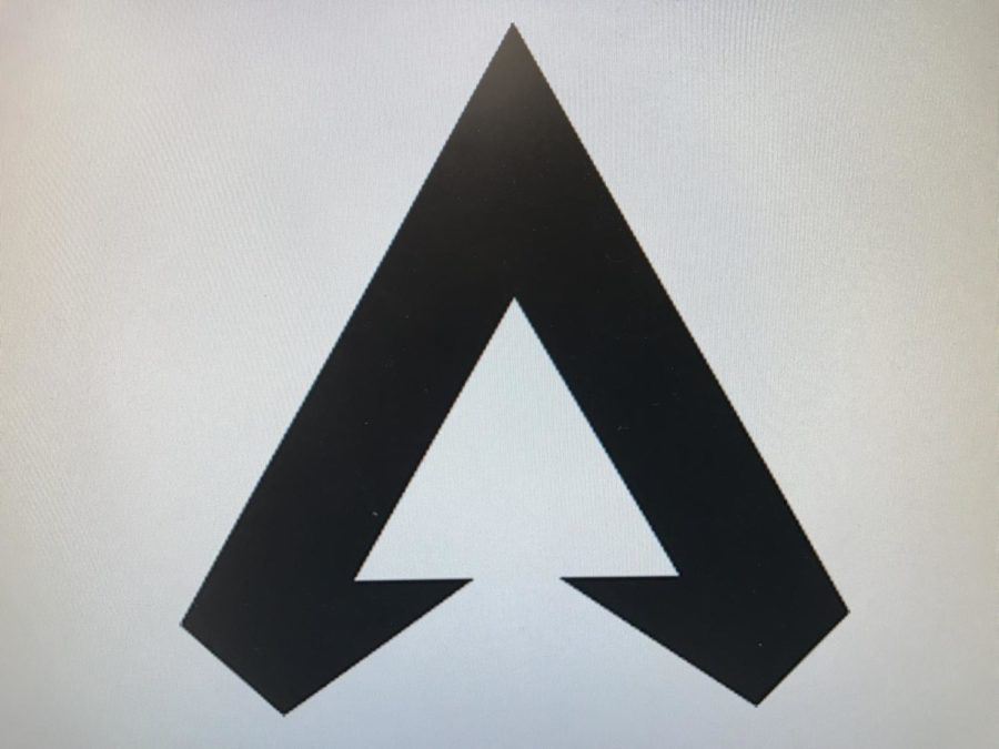 A+simple+yet+bold+symbol%2C+the+%22A%22+logo+of+Apex+Legends+serves+as+representation+of+the+game%27s+art+style.