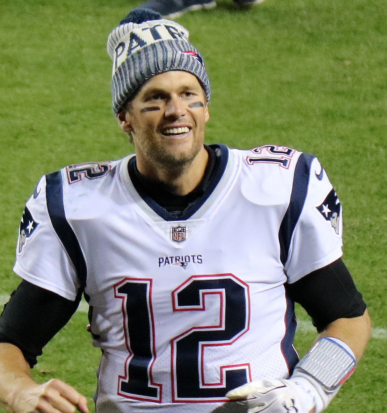 Tom Brady, quarterback of the New England Patriots is ready to lead his team to another Superbowl victory