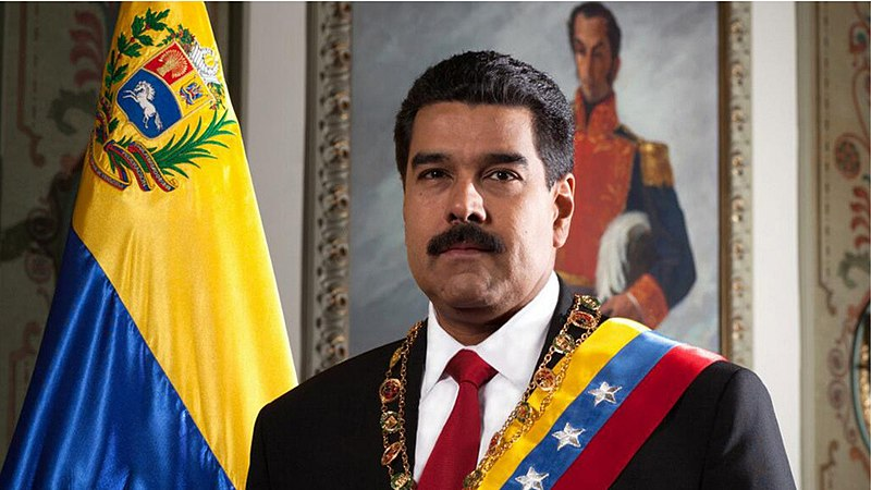 Nicol%C3%A1s+Maduro+publicly+denounces+his+opposition+amidst+the+struggle+for+power+in+Venezuela.