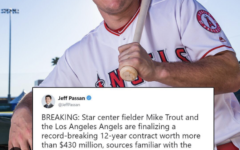 Mike Trout Sets an American Sports Contract Record