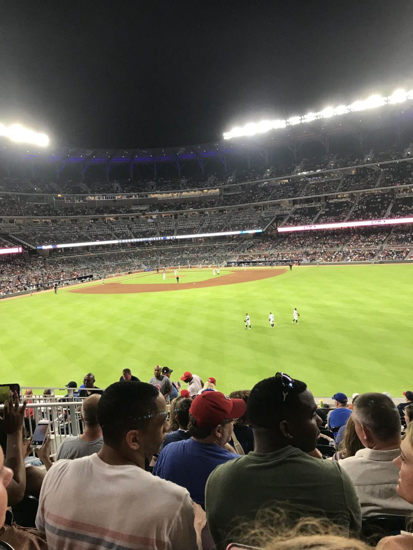 Drew+Ramos+attending+the+Braves+home+field+Sun+Trust+Park+on+a+beautiful+summer+night.