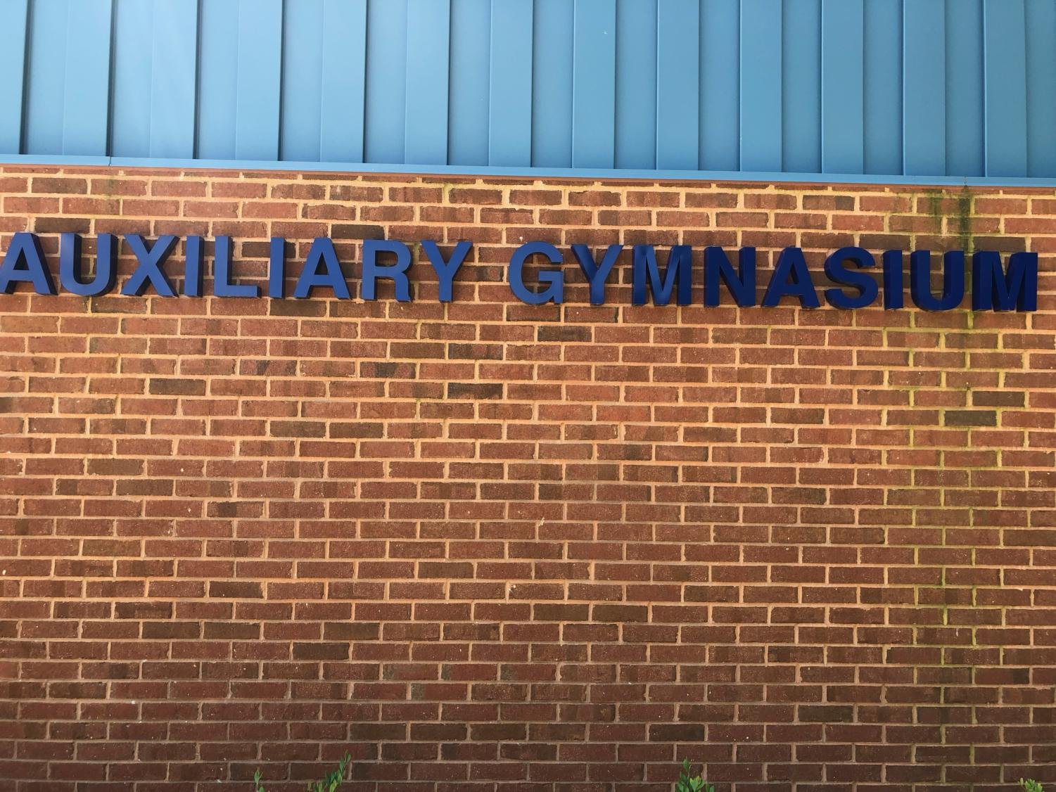 The+Aux+Gym+has+been+sought+after+for+many+years+by+the+Lafayette+community.+Lafayette+was+the+last+of+the+WJCC+High+schools+to+get+a+secondary+gym.+This+gym+is+possibly+the+largest+legacy+left+by+Dr.+Holloman.