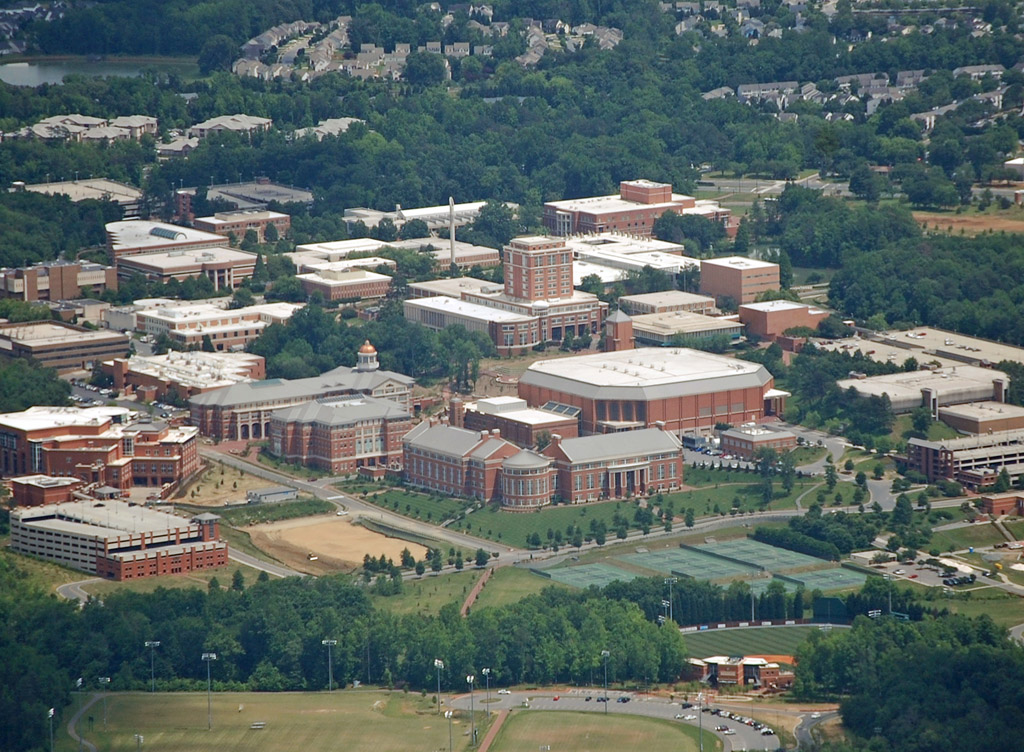 University Of North Carolina Charlotte On shut down after school shooting