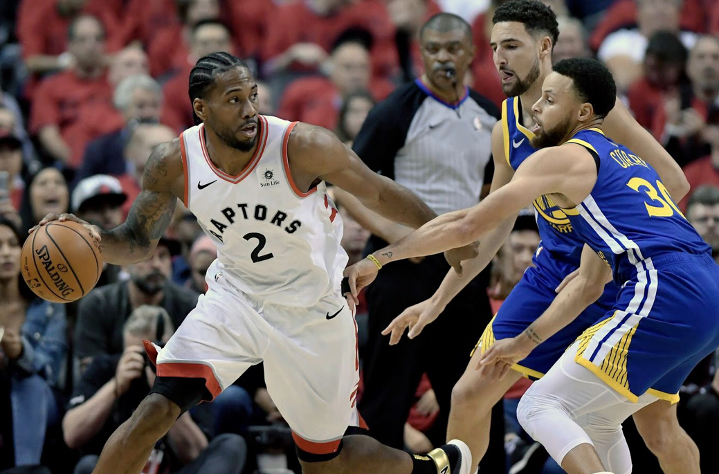 The Raptors have been battling to be crowned champion in the first few games of the NBA Finals.