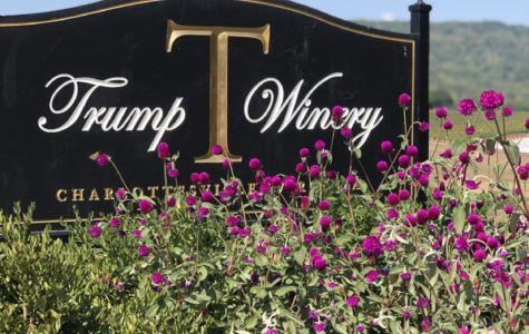 Trump Winery is Virginia's largest vineyard covering 227 acres, filled with beautiful buildings and crop fields.
