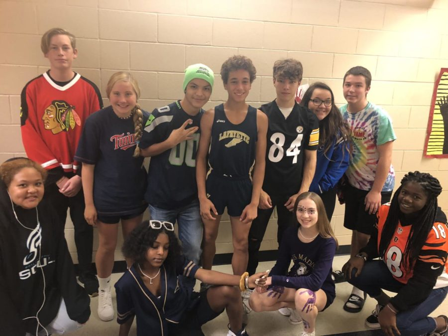 "Spirit Week: Day Two ""Team Tuesday"""