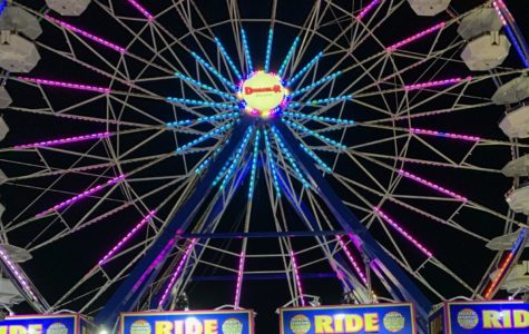This was the most beautiful part of the fair. It really shows the vibe and aura at the fair.