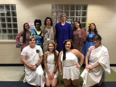 Spirit Week: Way-Back Wednesday!