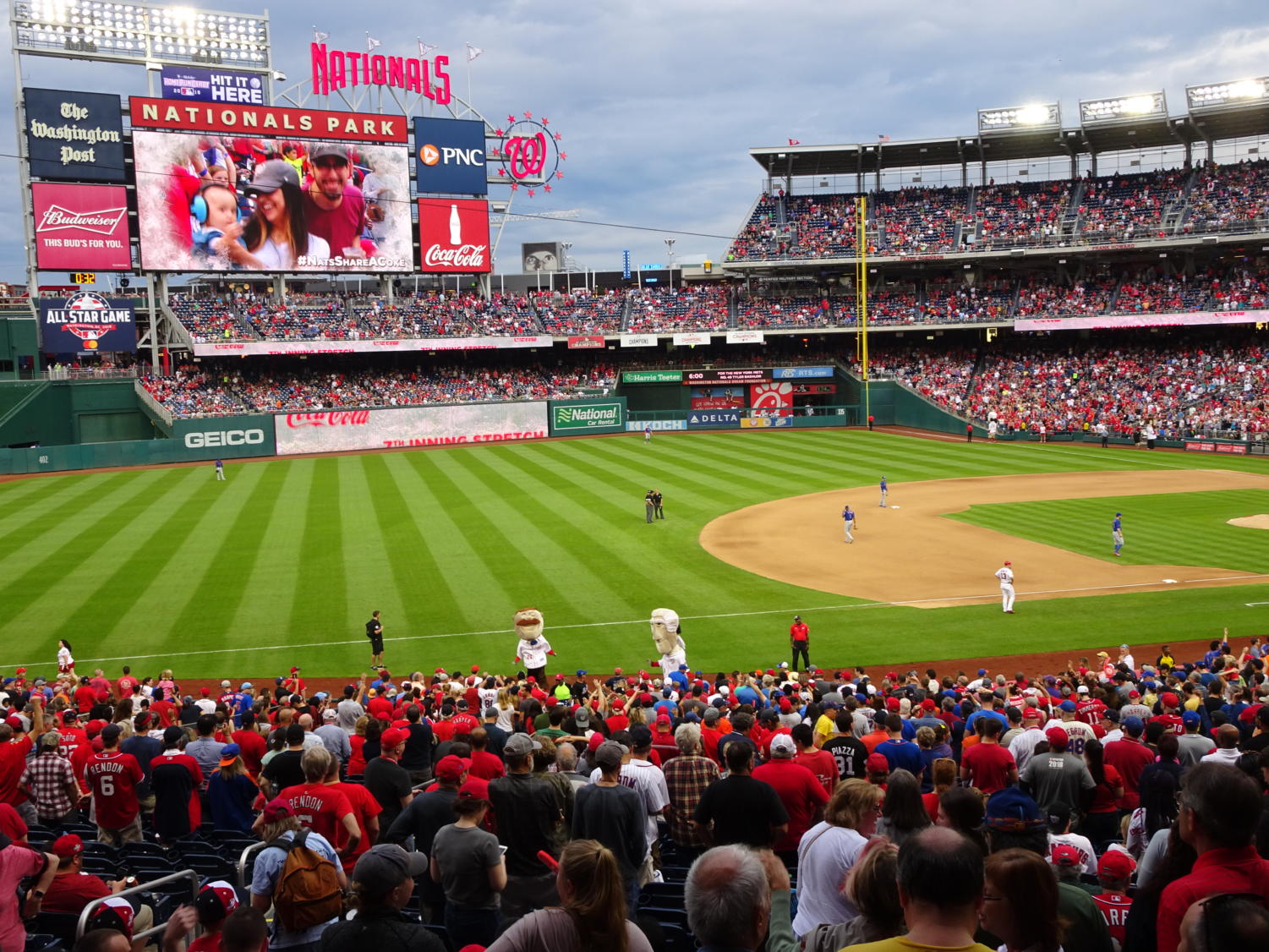 The Washington Nationals are heading to their first ever World Series.