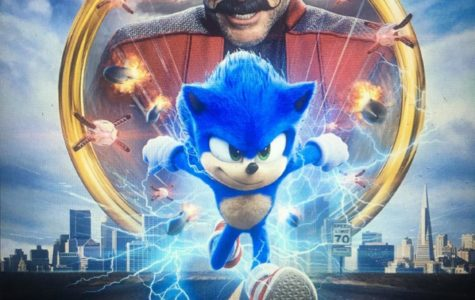 The updated poster for Sonic The Hedgehog, set for release on Valentines Day, 2020.
