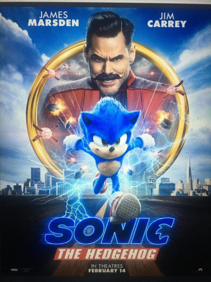 The+updated+poster+for+Sonic+The+Hedgehog%2C+set+for+release+on+Valentines+Day%2C+2020.