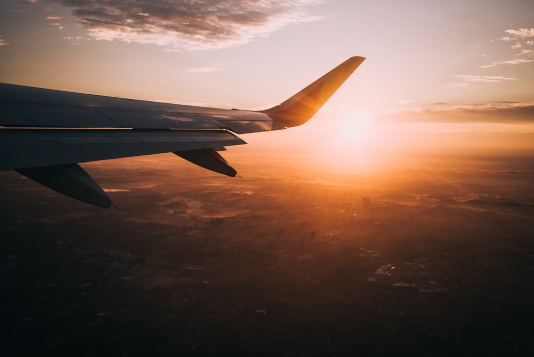 When you get on the plane, that is the moment when you realize what you're really about to do. You might feel more excited, scared or, like me, as if you decided to do something really stupid that you can't handle, but after a while everything is going to be fine.