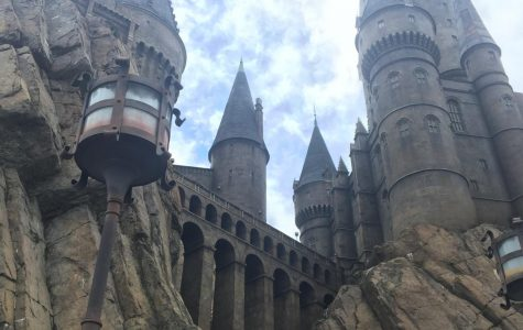 The Hogwarts Castle stands on two theme parks in Universal Orlando. Its area spans on both parks, Adventure Islands and Universal Studios. Inside the castle, it features the signature ride at the Wizarding World of Harry Potter Hogsmeade.