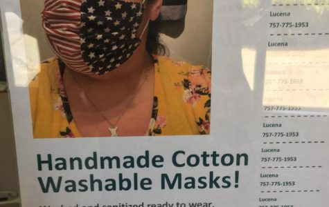 Many people have gotten creative when thinking about staying safe. Such as this photo, where you can make homemade masks.