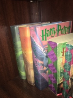 The Harry Potter book series is very popular and most people are seen to have it in their homes.