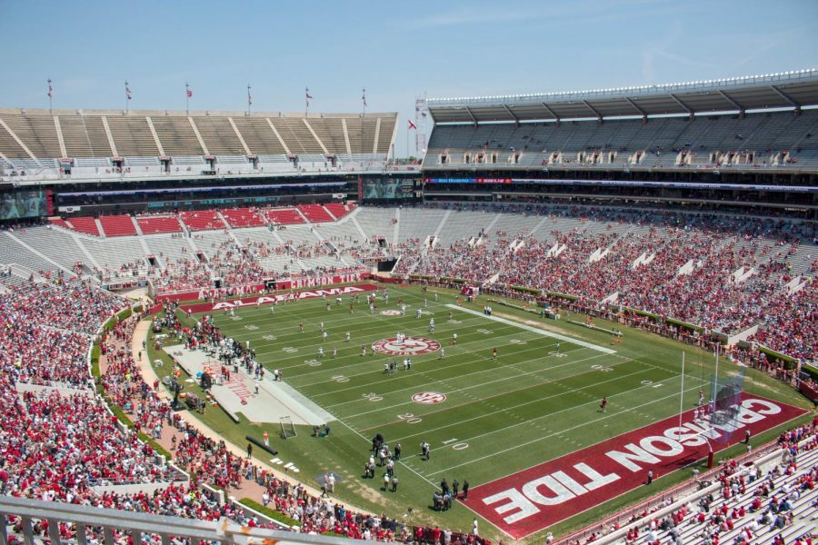 The Crimson Tide are still at the top.  After defeating Auburn 42-13 on Saturday, there is little doubt about their place in college football this season.