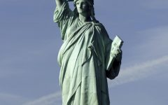 Once a symbol for economic freedom, Lady Liberty watches as America's middle class is slowly destroyed.