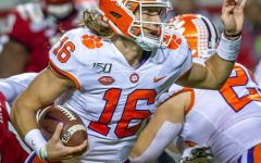 Trevor Lawrence could possibly be the 1st overall draft pick in the 2021 NFL, but he, may stay another year in collage so he's not drafted by the New York Jets.