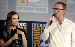 Olsen and Bettany at Comic-con talking about the show.