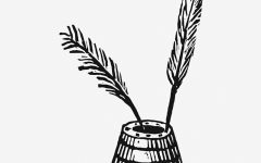 Vintage Victorian style quill pen engraving. Original from the British Library. Digitally enhanced by rawpixel.