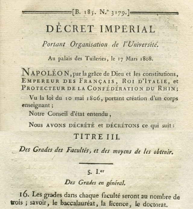 This+ancient+exam+was+first+created+by+Napol%C3%A9on+Bonaparte+and+has+been+around+for+over+two+centuries%2C+created+in+1808.