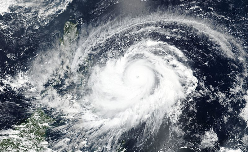 Super Typhoon Surigae as it passes the Philippines on April 16th, 2021.