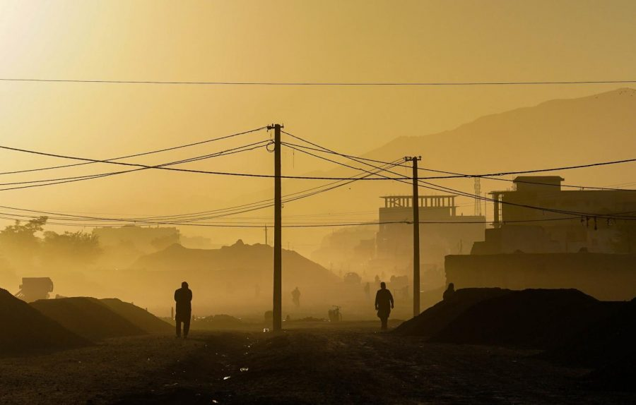 A morning in Kubal Afghanistan, before the violence from the Taliban starts.