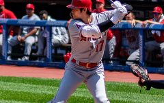 Shohei has 44 home runs which is second in the American League, also pitching with under a 3.3 ERA.