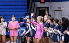 At Lafayette High School, mask are required indoors except when you are playing a sport. Here is the Lafayette Volleyball team at their home game last week. Mask here are left up to personal opinion based on comfort level.